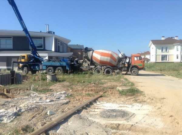 Купить бетон в пикалево сколько нужно бетонной смеси для фундамента